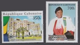 GABON 2018 / 2019 COUR CONSTITUTIONNELLE CONSTITUTION JUSTICE JUGE COLLEGE - FULL SET - RARE MNH - Gabon