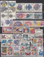 CSSR 1969-1991  - Partie Raumfahrt Mit 33 Verschiedenen  Used - Raumfahrt