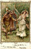 Qeuvres Illustrées De William Shakespeare:  FLORIZEL PERDITA  - Carte Litho Faulkner & Co - Ilustradores & Fotógrafos