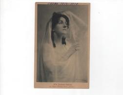 Artistes Saison 1908-1909/ Mlle Suzanne CESBRON -Cliché Signé Boissonnas -- Circulée-peu Commune - Artistes