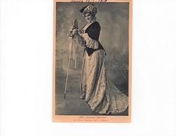 """Artistes Saison 1908-1909/ Mlle Julienne Marchal Dans  """"Manon"""" -Cliché Signé Boissonnas -- Circulée-peu Commune - Artistes"""