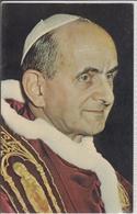 POPE  PAUL VI. -  Viaggiata 1965  Poste Vaticane, Maxi Card - Personaggi Storici