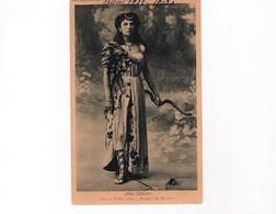 """Artistes Saison 1908-1909/ Mme Catalan- Rôle De Phédre  Dans """"Ariane"""" -Cliché Signé Boissonnas -- Circulée-peu Commune - Artistes"""