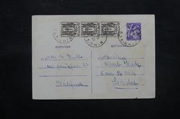 FRANCE - Entier Postal + Complément De Heligenstein Pour Selestat En 1945  - L 27501 - Standard Postcards & Stamped On Demand (before 1995)