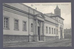 1908 TOURNAI PENSIONNAT DES DAMES DE SAINT ANDRE ENTREE PRINCIPALE à MLLE LEBBE WAEREGHEM - Tournai