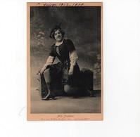 "Artistes Saison 1908-1909/ Mlle Streletski   Dans "" Guillaume Tell""-Cliché Signé Boissonnas -- Circulée-peu Commune - Artistes"