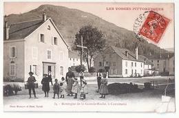 CPA 88 MONTAGNE DE LA GRANDE ROCHE A CORNIMONT RARE BELE CARTE !! - Other Municipalities