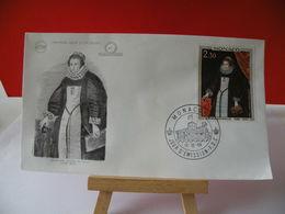 Jeanne Grimaldi (1596-1620) - Monaco - 12.12.1968 FDC 1er Jour - Toutes En Très Bon état Garantie - FDC