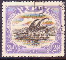 "PAPUA (BRITISH NEW GUINEA) 1910 SG #78 2½d Used Large ""PAPUA"" Wmk Upright Perf.12½ CV £18 - Papua New Guinea"