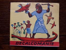 L18/162 Decalcomanie.Editions Jesco Paris. Egypte. - Autres Collections