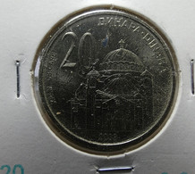 Serbia 20 Dinara 2003 Varnished - Servië
