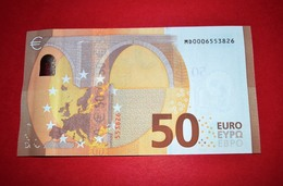 50 EURO PORTUGAL M001 G5 - Low Serial Number: MD0006553826 - M001G5 - UNC FDS NEUF - EURO