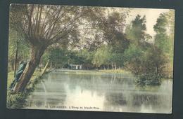 LINKEBEEK. L'étang Du Moulin Rose. S.B.P. N°10. Animée. - Linkebeek