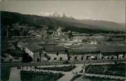 Cusco Partial View/Teilansicht Mit Anden Panorama 1955 Privatfoto - Peru