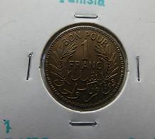Tunisia 1 Franc 1945 Varnished - Tunisia