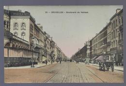 1909 BRUXELLES BOULEVARD DU HAINAUT à M. OPTDENHEINDEN HOTEL WAGNER ANVERS - Lanen, Boulevards