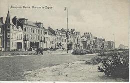 Nieuport - Bains.   Vue Sur La Digue.   1906  Naar   Molenbeek - Nieuwpoort