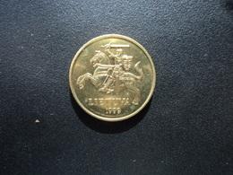 LITHUANIE : 20 CENTU   1999   KM 107    Non Circulé - Lithuania