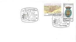 POSTMARKET ESPAÑA 1988 LAS PALMAS - Ajedrez