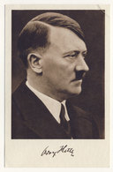 Deutsches Reich Michel No. 663 Sonderstempel Braunau Führer Geburtstag Auf Karte Hitler Mit Unterschrift - Briefe U. Dokumente