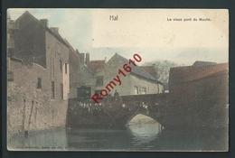 HAL. Halle. Le Vieux Pont Du Moulin. Petite Animation. Nels, Série 69, N°15. Couleur. Circulé En 1904. Scan Recto/verso. - Halle