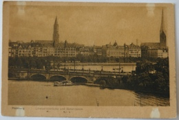 Hamburg Lombardsbrücke Und Alsterdamm - Allemagne