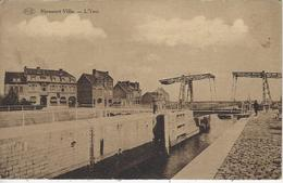 Nieuport-Ville.   -   L'Yser   -   1936   Naar   Hove - Nieuwpoort