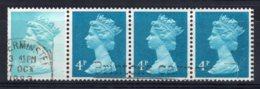Great Britain - 1981 - Coil Strip - Used - 1952-.... (Elizabeth II)