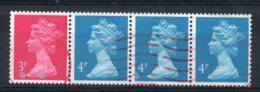 Great Britain - 1989 - Coil Strip - Used - 1952-.... (Elizabeth II)