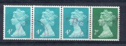 Great Britain - 1988 - Coil Strip - Used - 1952-.... (Elizabeth II)