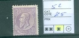 52 X Côte 75.00€ - 1884-1891 Leopold II