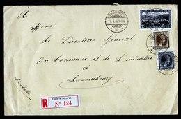 A6064) Luxemburg R-Brief Esch-sur-Alzette 21.01.32 An Generaldirektor Handel Industrie - 1926-39 Charlotte Rechtsprofil