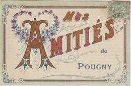 Niévre :  POUGNY :   Amitiès - Autres Communes