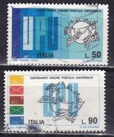 Repubblica Italiana, 1974 - UPU - Nr.1271/1272 Usato° - 1946-.. Republiek