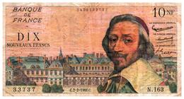 Billets > France >10 N  Francs  C.2-2-1961.C. - 1959-1966 ''Nouveaux Francs''