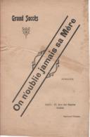 Partitions-ON N'OUBLIE JAMAIS SA MERE Romance Paroles De X - Partitions Musicales Anciennes