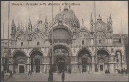 Facciata Della Basilica Di San Marco, Venezia, C.1910 - VZ Cartolina - Venezia (Venice)