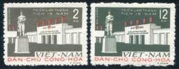 Vietnam Du Nord 1960  YT 210-211 ; Mi# 148-149 MNG (*) - Viêt-Nam