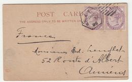 T.M. Duché & Sons, London Postcard Travelled 1896 B190401 - Covers & Documents