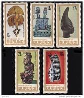 Burundi PA 0052/56** Art Africain  MNH - Burundi