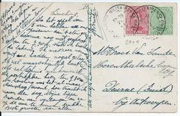 Zichtkaart Elsenborn Met OCB 137-138 - Afstempeling LEGERPOSTERIJ 10 - 1915-1920 Albert I