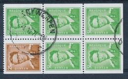 "BELGIE - OBP Nr 1562/1563 - Zegels Uit Boekje 6 -  Cachet  ""ANTWERPEN"" - (ref. ST-1090) - 1953-1972 Glasses"