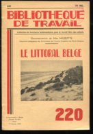 Scolaires Bibliothèque De Travail 6-12 Ans N° 220 Du 01/02/1953 Le Littoral Belge - 6-12 Ans