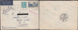 France - Air Mail, Poste Aérienne. Censor 'CENZUROVANE', Paris 20.11.1938 - Prešov (Praha-Letiště ), Czechoslovakia. - France