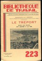 Scolaires Bibliothèque De Travail 6-12 Ans N° 223 Du 22/02/1953 Le Tréport Mers Les Bains - 6-12 Ans