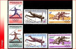 Congo 0545/50* Jeux Olympiques De Tokio H - République Du Congo (1960-64)