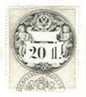 AUSTRIA, Documentary, Er 56, Used, F/VF - Revenue Stamps