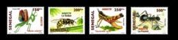 SENEGAL 2007 2010 INSECTS INSECTES ANT ANTS FOURMI FOURMIS GUEPE MANTE RELIGIEUSE MANTIS - RARE -  MNH ** - Sénégal (1960-...)