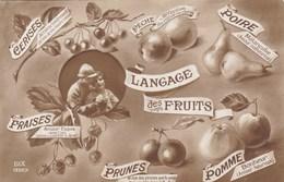 Langage Des Fruits - Cartes Postales