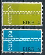 °°° IRELAND - Y&T N°267/68 - 1971 MNH °°° - 1949-... Repubblica D'Irlanda